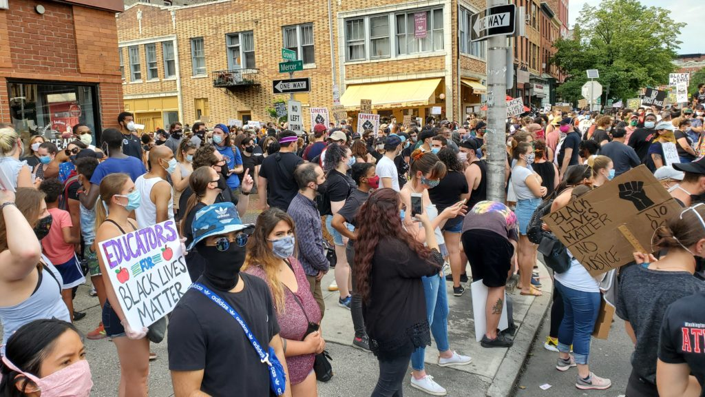 Protest Rally in Jersey City